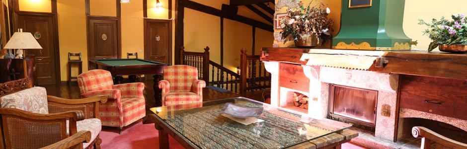 Sala de estar de la Posada/Palacio